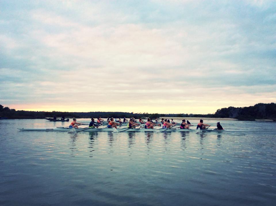 Alyssa v rowing