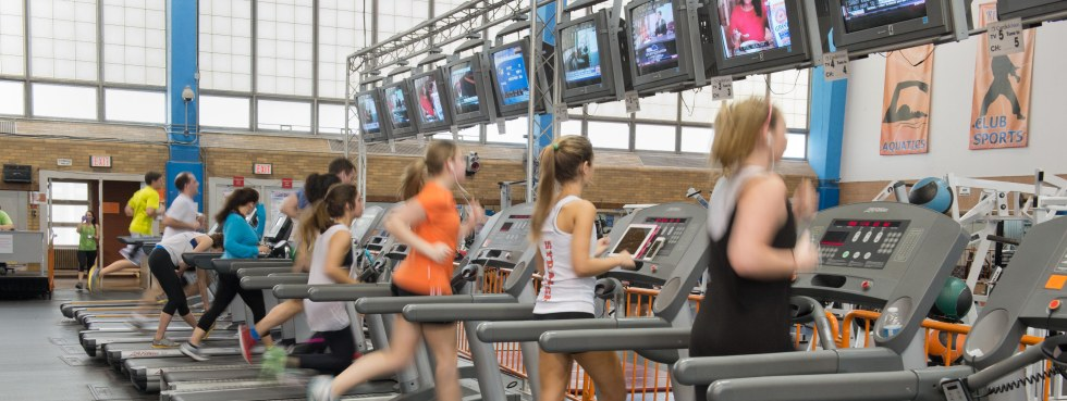 Archbold Gym Working Out Exercise Equipment Students
